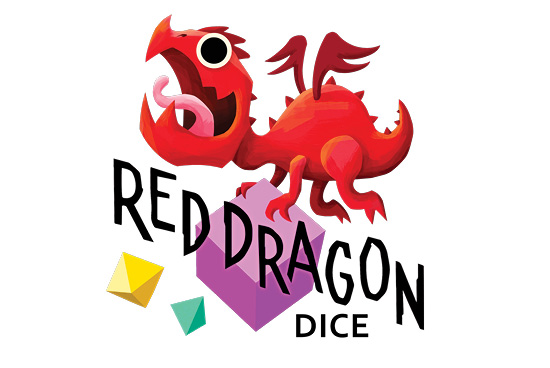 Red Dragon Dice Board Game Library